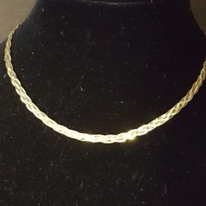 """925 Sterling, 10k, 6.72g 16""""in Necklace"""